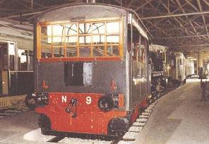 Figura 2 - La locomotiva Tramviaria usata nel 1883 – 1885.