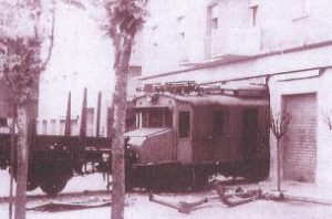 Figura 10 - L'unico incidente di rilievo accaduto sulla linea Casalecchio - Vignola Anno 1963.