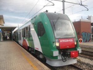 Risale al 17/09/2010, da Bazzano, alle 7.33, la prima corsa del nuovo ATR220. E' arrivato a Bologna alle 8.27 (orario previsto di arrivo 8.20).